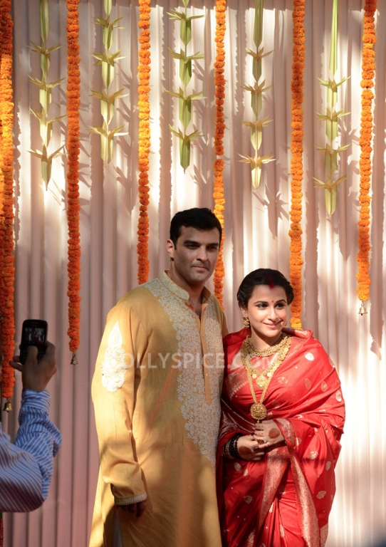 12dec Vidya Siddharth Wedding20 IN PHOTOS: Vidya Balan gets hitched!