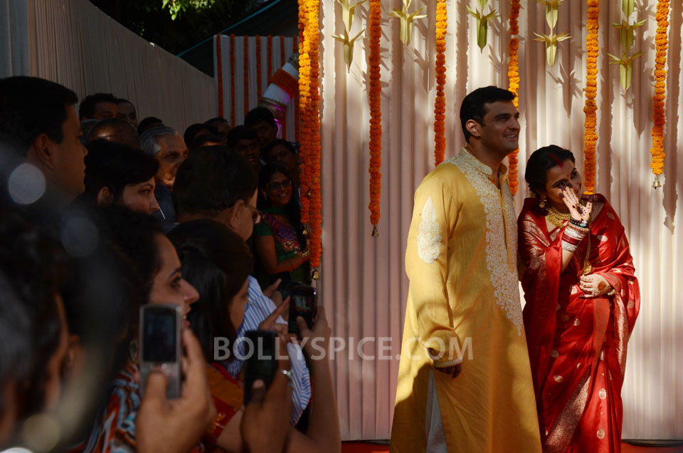 12dec Vidya Siddharth Wedding21 IN PHOTOS: Vidya Balan gets hitched!