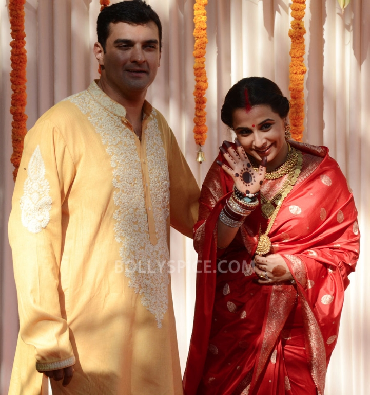 12dec Vidya Siddharth Wedding22 IN PHOTOS: Vidya Balan gets hitched!