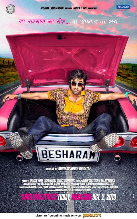 besharam Ranbir Kapoors Besharam has begun!