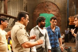 On the sets of Dabangg 2 – Day 1!