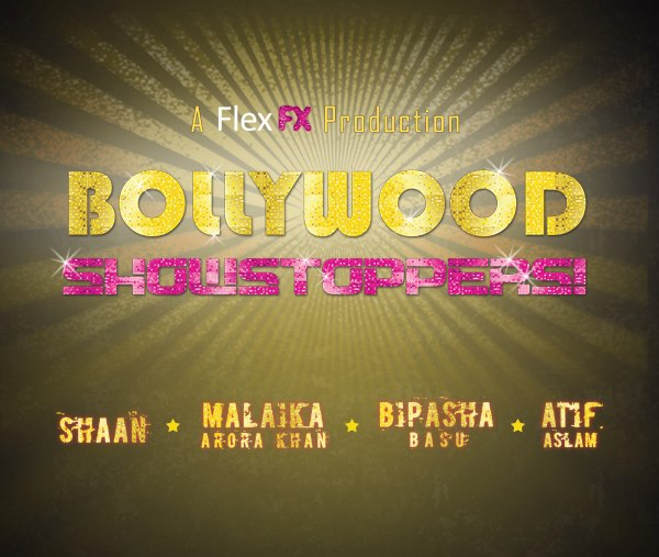 showstoppers Bipasha Basu, Malaika Arora Khan, Shaan, Atif Aslam & Bolly Flex set to perform in UKs Bollywood Showstoppers