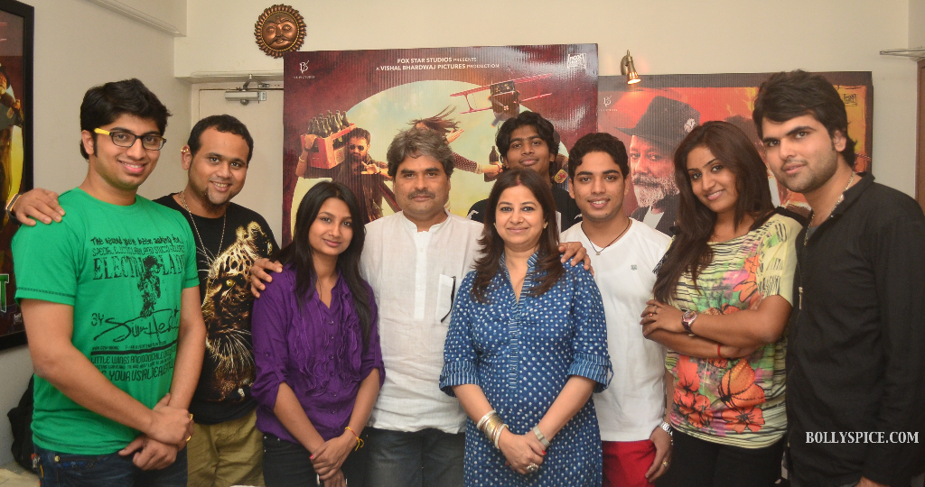 vishalargmp Vishal Bhardwaj gives opportunity to 7 talented contestants of Sa Re Ga Ma to sing for MKBKM!