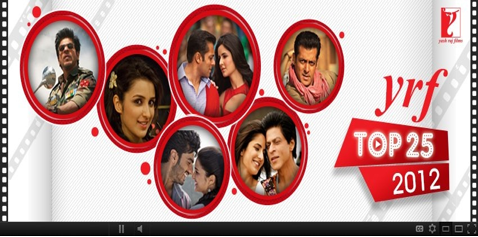 yrf christmas YRF launches 'YRF Top 25 2012' contest this Christmas Season