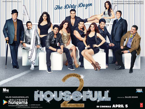 13jan 100crore housefull2 REFLECTIONS 2012: Top 100 Crore Films of 2012