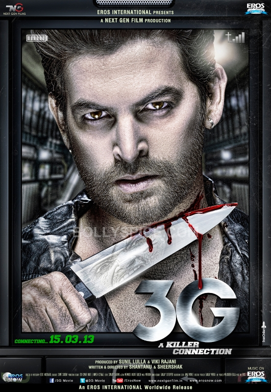 13jan 3G Poster NeilNitinMukesh Neil Nitin Mukesh in a new avatar