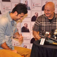 13jan AnupamKher RanbirKapoor02 185x185 In Pictures and Video: Anupam Kher interviews Ranbir Kapoor