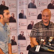 13jan AnupamKher RanbirKapoor07 185x185 In Pictures and Video: Anupam Kher interviews Ranbir Kapoor