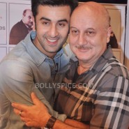 13jan AnupamKher RanbirKapoor22 185x185 In Pictures and Video: Anupam Kher interviews Ranbir Kapoor