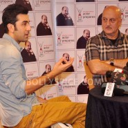 13jan AnupamKher RanbirKapoor29 185x185 In Pictures and Video: Anupam Kher interviews Ranbir Kapoor