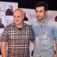 13jan AnupamKher RanbirKapoor30 185x185 In Pictures and Video: Anupam Kher interviews Ranbir Kapoor
