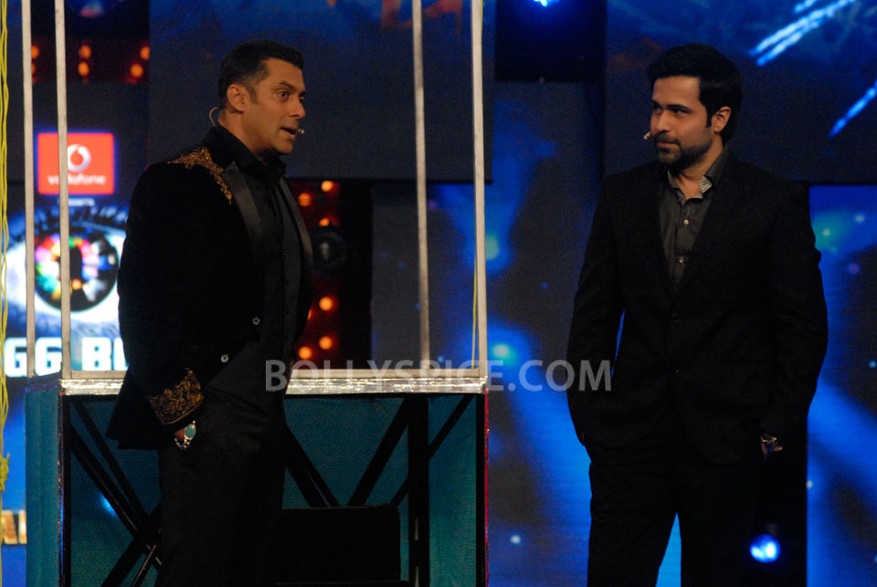 13jan EkThiDaayan BiggBoss03 IN PICTURES: Emraan, Salman and Ek Thi Daayan on Bigg Boss 6