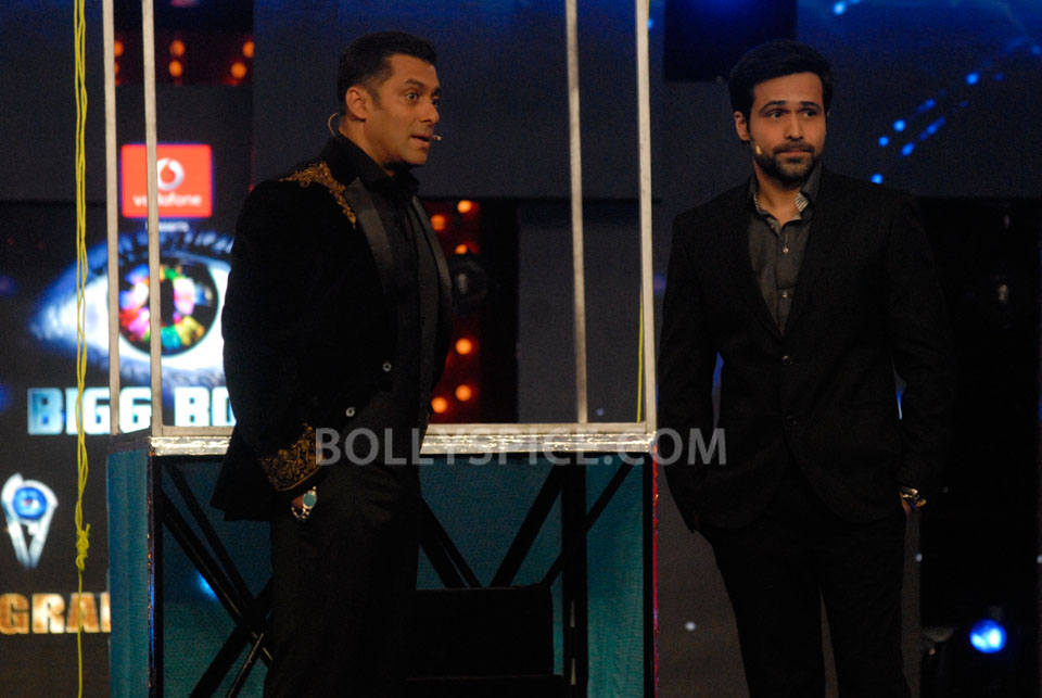 13jan EkThiDaayan BiggBoss04 IN PICTURES: Emraan, Salman and Ek Thi Daayan on Bigg Boss 6