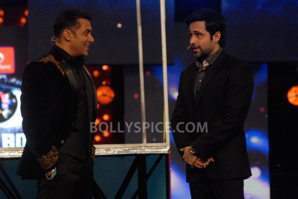 13jan EkThiDaayan BiggBoss07 IN PICTURES: Emraan, Salman and Ek Thi Daayan on Bigg Boss 6