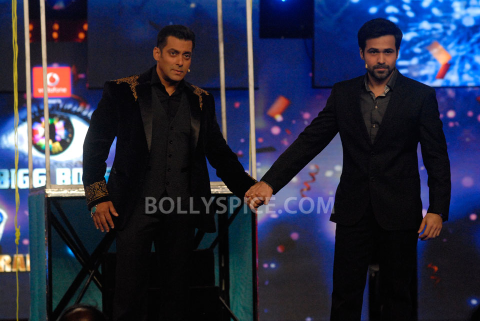 13jan EkThiDaayan BiggBoss08 IN PICTURES: Emraan, Salman and Ek Thi Daayan on Bigg Boss 6