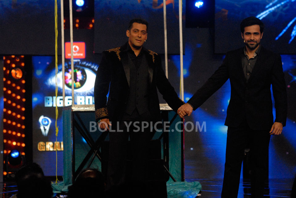 13jan EkThiDaayan BiggBoss09 IN PICTURES: Emraan, Salman and Ek Thi Daayan on Bigg Boss 6