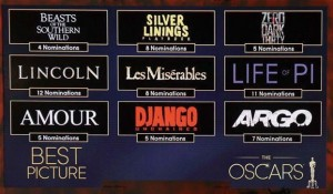 13jan OscarNominations2013 300x175 Life of Pi and Silver Linings Playbook get the Oscar nod