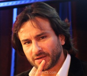 13jan Saif in London01 300x261 Saif Ali Khan in London: Race 2 is even cooler than the original