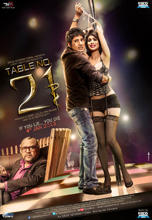 13jan Table21 JhaReview This is an enjoyable and eventually disturbing riches to ragging story to start off the year   Subhash K Jha reviews Table No. 21