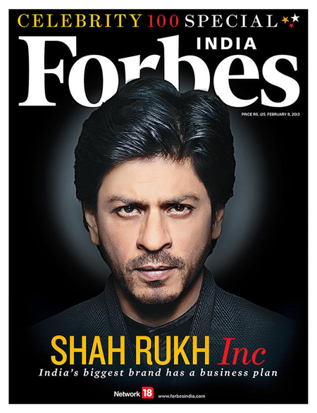 13jan srkforbes 01 In Pictures: THE HOT Shah Rukh Khan on Forbes