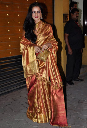 13jan whwnff13 rekha Whos Hot Whos Not   Filmfare Awards 2013