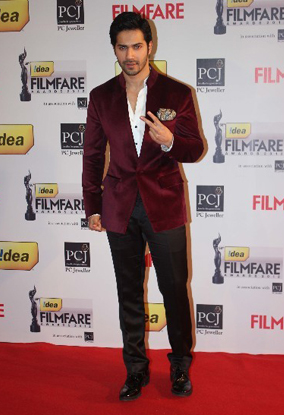 13jan whwnff13 varun Whos Hot Whos Not   Filmfare Awards 2013