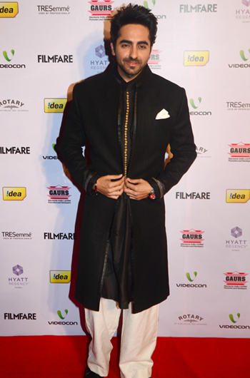 13jan whwnffnom ayushman Whos Hot Whos Not   58th Filmfare Awards Nominations Bash