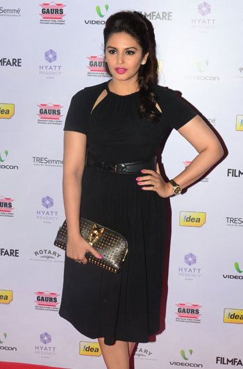 13jan whwnffnom huma Whos Hot Whos Not   58th Filmfare Awards Nominations Bash