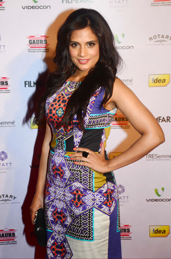 13jan whwnffnom richa Whos Hot Whos Not   58th Filmfare Awards Nominations Bash