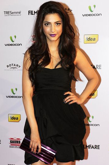 13jan whwnffnom shruti Whos Hot Whos Not   58th Filmfare Awards Nominations Bash
