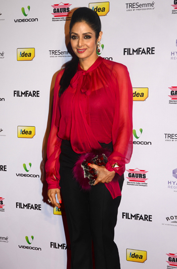 13jan whwnffnom sridevi Whos Hot Whos Not   58th Filmfare Awards Nominations Bash