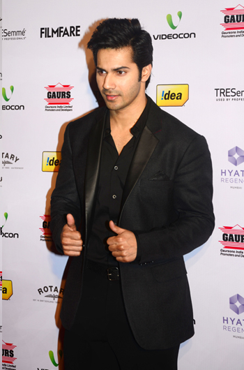 13jan whwnffnom varun Whos Hot Whos Not   58th Filmfare Awards Nominations Bash