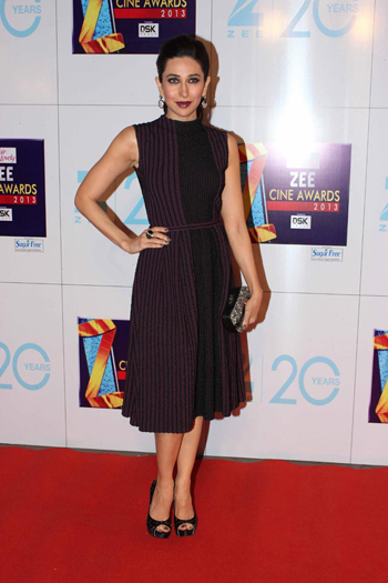 13jan whwnzee karishma Whos Hot Whos Not   Zee Cine Awards