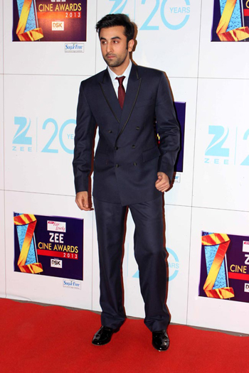 13jan whwnzee ranbir Whos Hot Whos Not   Zee Cine Awards