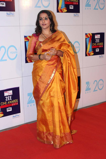 13jan whwnzee vidya Whos Hot Whos Not   Zee Cine Awards