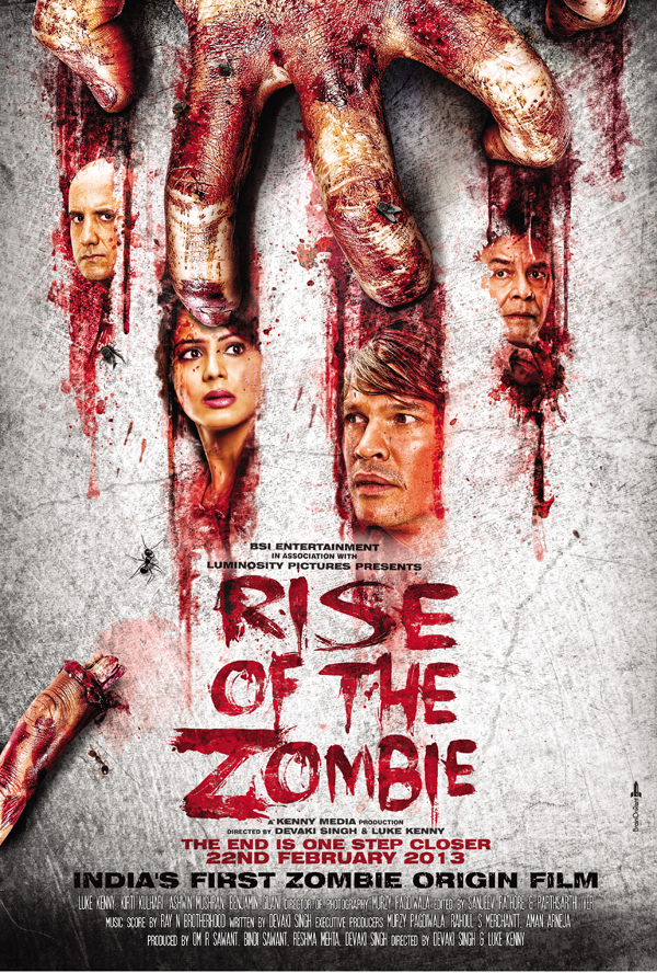 DOUBLE SPREAD Luke Kenny talks to us exclusively about Rise of the Zombie!