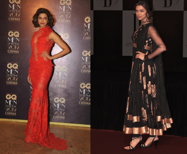 Deepika REFLECTIONS 2012: Best Dressed Stars of 2012