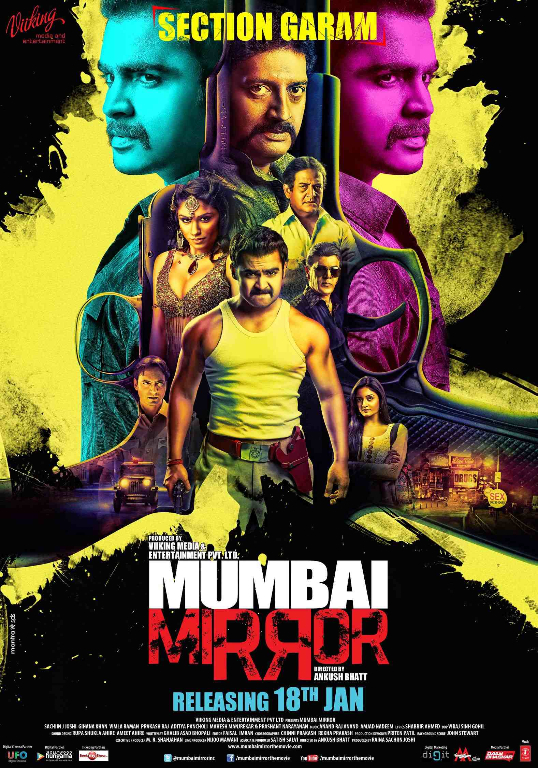 Poster Tip Top Entertainment presents Mumbai Mirror, releasing in the UK on 18th January 2013