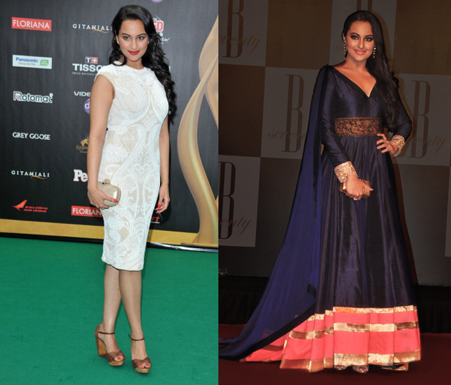 Sonakshi REFLECTIONS 2012: Best Dressed Stars of 2012