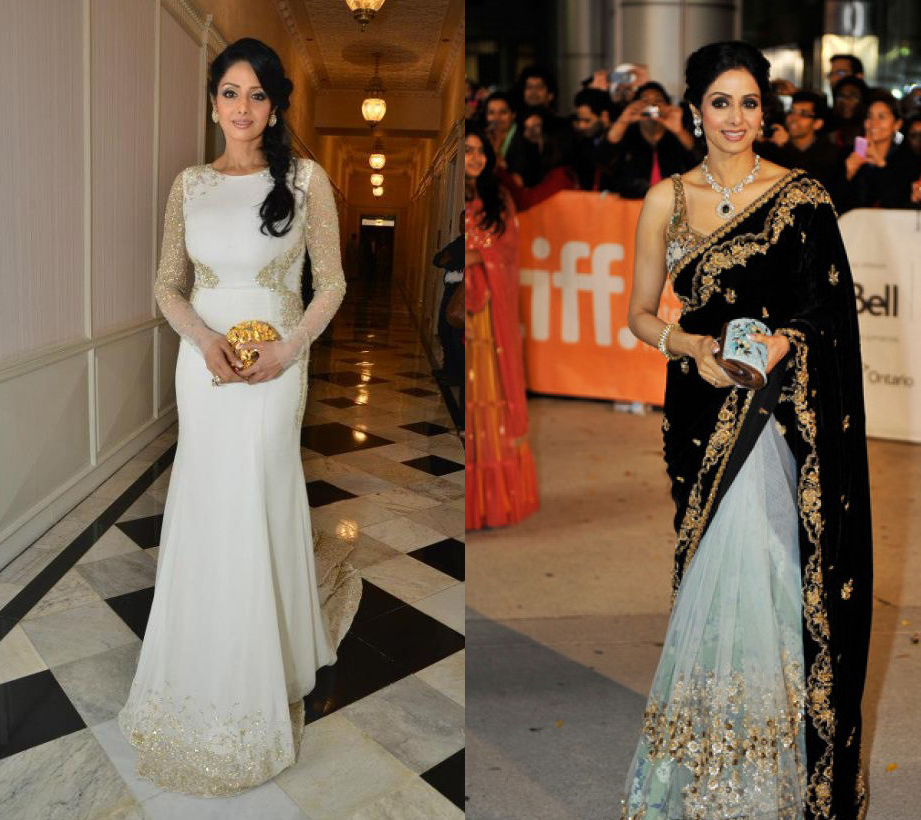 Sridevi1 REFLECTIONS 2012: Best Dressed Stars of 2012