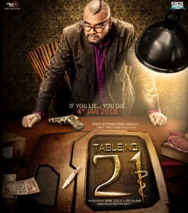 Table No. 21 Movie First Look Poster Cinema65.com  265x300 Table No. 21 Movie Review