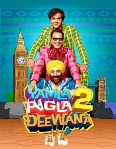 Yamla Pagla Deewana 2 234x300 Box Office: 'Yamla Pagla Deewana 2' is a coverage affair