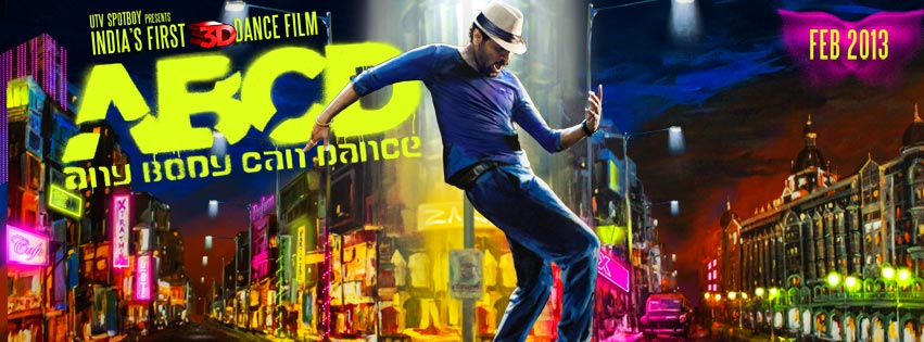 abcdbanner  When Prabhu dances time freezes   Subhash K Jha reviews ABCD (Any Body Can Dance)