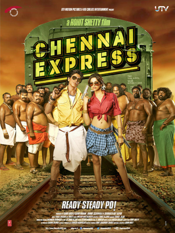 chennai express Chennai Express first looks