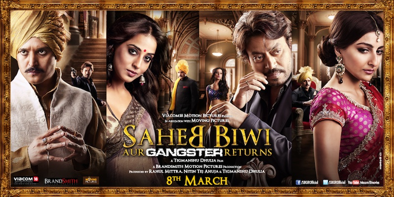 saheb Irrfans royally back in Sahib Biwi Aur Gangster Returns