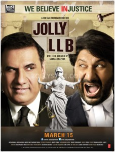 13feb JollyLLB Poster01 227x300 Jolly unveils his Kathghara!