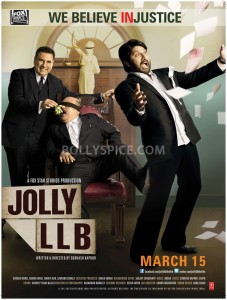 13feb JollyLLB Poster02 227x300 Jolly unveils his Kathghara!