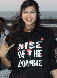 13feb devaki 01 First Woman in India and the World Co Directing a Zombie Film
