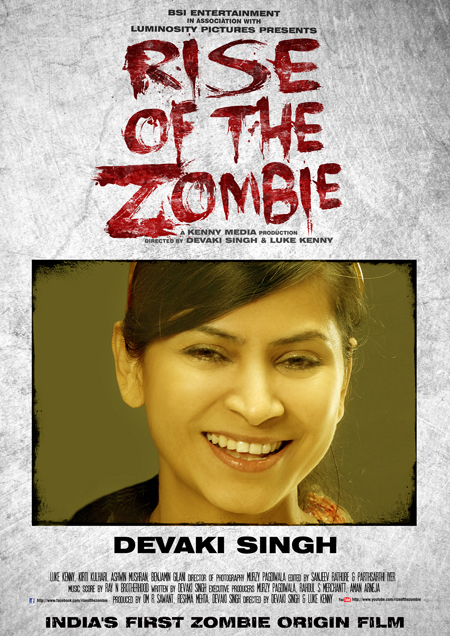 13feb devaki 02 First Woman in India and the World Co Directing a Zombie Film