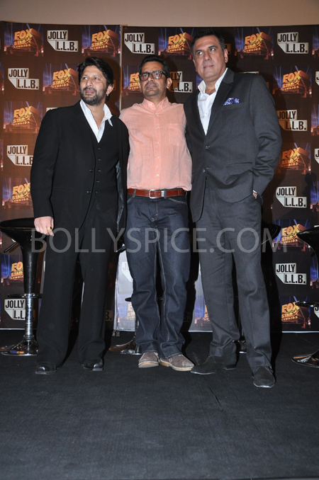 13feb jolly 03 Fox Star Studios' Jolly LLB trailer touches hearts of a Million people !!
